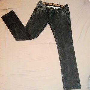 Rock Revival Black Jeans 26